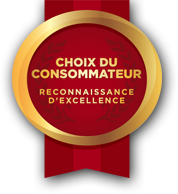 Logo Choix du Consommateur - Reconnaissance d'excellence