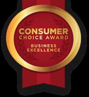 Consumer Choice Award logo - Business Excellence